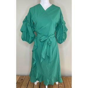 NWT HAYDEN Los Angeles Long Sleeve Wrap Dress S